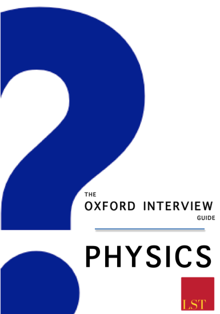 engineering oxford interview questions oiq physics cover
